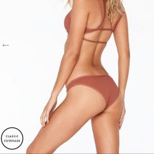 NWT l*space riding high bikini bottom size medium